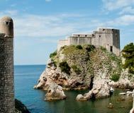 форт dubrovnik средневековый стоковая фотография rf