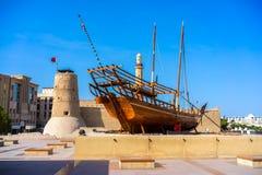 Форт Fahidi Al, Дубай, ОАЭ. стоковая фотография rf