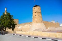 Форт Fahidi Al (1787) Дубай ОАЭ Стоковое фото RF