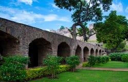 Форт Golconda, Хайдарабад - Индия Стоковое фото RF