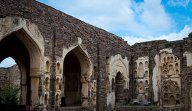 Форт Golconda, Хайдарабад - Индия Стоковое Изображение RF