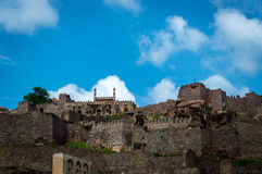 Форт Golconda, Хайдарабад - Индия Стоковая Фотография RF
