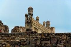 Форт Golconda, Хайдарабад - Индия Стоковые Изображения RF