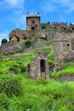 Форт Golkonda в Хайдарабаде, Индии Стоковое Изображение RF