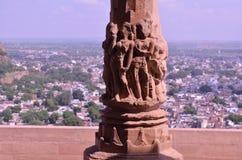 Форт Gwalior Стоковые Изображения
