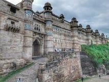 Форт Gwalior стоковые фотографии rf