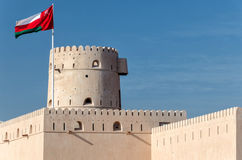 Форт Hadd al Ras Стоковое Изображение RF