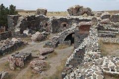 Форт i Aziziye в Erzurum, Турции Стоковые Изображения RF