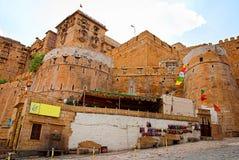 Форт Jaisalmer, золотой город Раджастхана, Jaisalmer, Индии Стоковые Фотографии RF