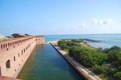 форт jefferson границы Стоковое Изображение