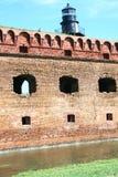 Форт Jefferson, сухое Tortugas стоковое изображение