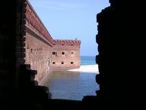 форт jefferson Стоковая Фотография