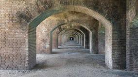 Форт Jefferson Стоковые Изображения RF