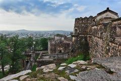 Форт Jhansi стоковые изображения rf