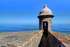 форт juan san Стоковое Изображение RF