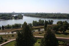 Форт Kalemegdan в Белграде, Сербии Стоковое фото RF