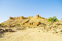 Форт Khaba, Jaisalmer, Раджастхан, Индия Стоковые Фото