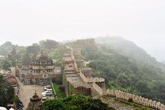 Форт Kumbalgarh, Раджастхан Стоковая Фотография