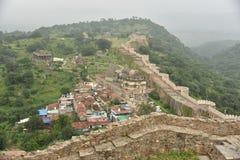 Форт Kumbalgarh, Раджастхан Стоковая Фотография RF