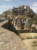 Форт Kumbhakgarh стоковые изображения rf