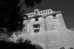 Форт Kumbhalgarh, Индия Стоковое Фото