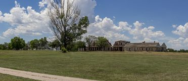 Форт Laramie, Вайоминг Стоковое Изображение