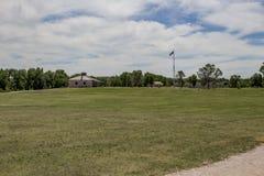 Форт Laramie, Вайоминг Стоковое Изображение RF