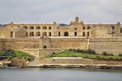 Форт Manoel около Sliema Остров Мальты Стоковая Фотография RF