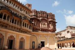 Форт Meherangarh в Джодхпуре стоковые фотографии rf