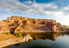 Форт Mehrangarh, Джодхпур, Раджастхан, Индия Стоковая Фотография RF