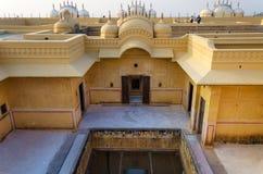 Форт Nahargarh, Джайпур, Раджастхан, Индия Стоковая Фотография RF