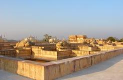 Форт Nahargarh или форт тигра, Джайпур, Раджастхан, Индия Стоковые Фотографии RF