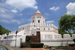 Форт Phra Sumen в Бангкоке Стоковые Фото