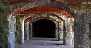 Форт Popham, Мейн США Стоковые Фото