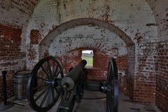 Форт Pulaski около острова Tybee Стоковые Фотографии RF