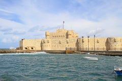 Форт Qaitbay стоковое изображение rf