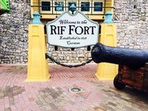 Форт Rif Стоковые Изображения