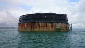 Форт Solent Стоковая Фотография