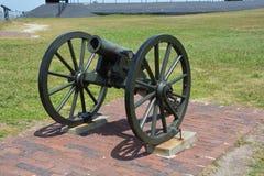 Форт Sumter канона Стоковые Фотографии RF