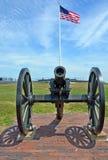Форт Sumter канона Стоковое Изображение RF