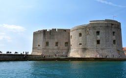 Форт Sv Иван в Дубровнике стоковое изображение
