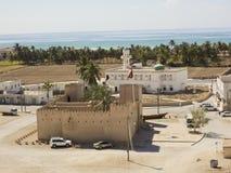 Форт Taqa - замок, Оман стоковые изображения rf