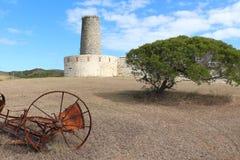 Форт Teremba и окружающий ландшафт Стоковые Фото