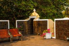 Форт Tiracol goa Индия стоковое фото rf