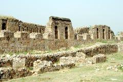 Форт Tughlaqabad, Нью-Дели Стоковые Изображения RF