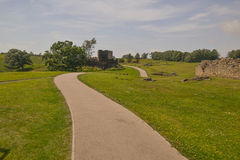 Форт Vindolanda римский Стоковое Фото