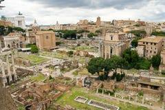 форум Италия римский rome стоковая фотография rf