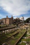 Форум Рима Италии имперский Стоковая Фотография RF