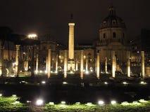 Форум Рима Traiano стоковая фотография
