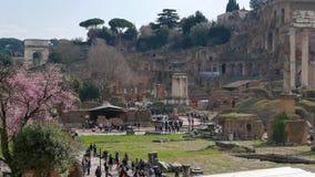 форум римский Италия rome сток-видео